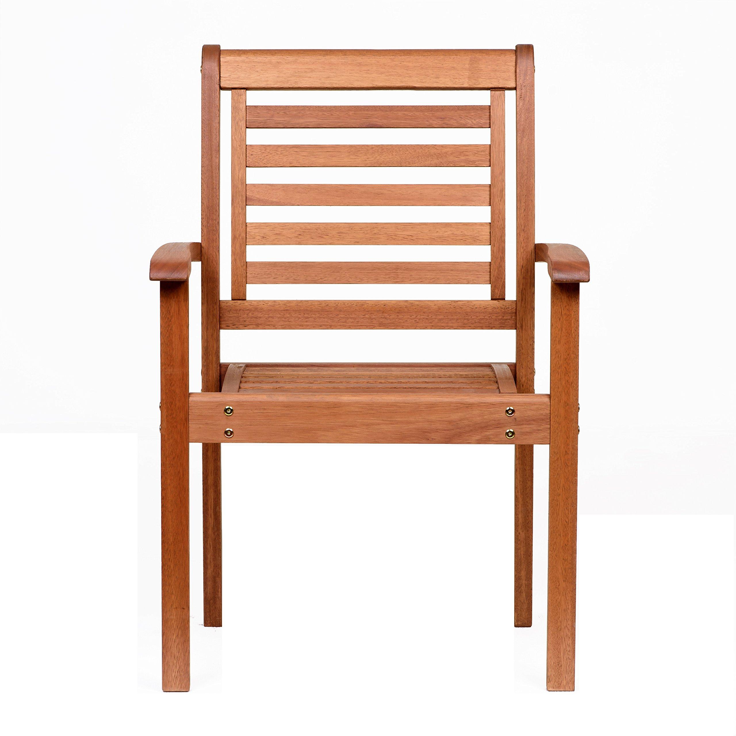 Amazonia Stackable Eucalyptus Chair