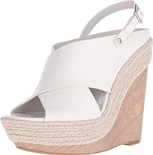 ALICE+OLIVIA Woman Lily Suede Platform Sandals Charcoal Size 39.5 IL6CJvsr