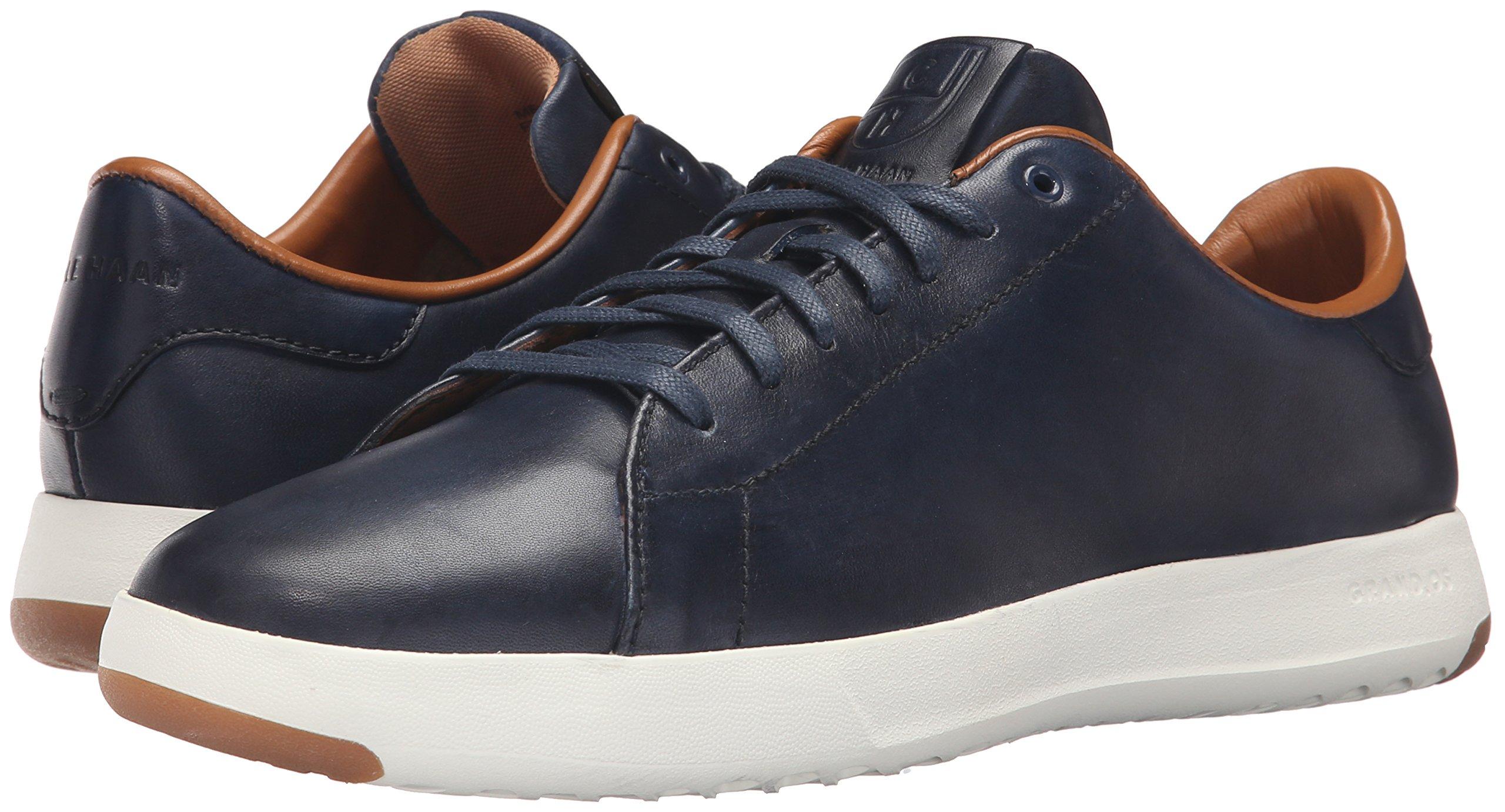 Cole Haan Men's Grandpro Tennis Fashion Sneaker, Blazer Blue Hand Stain, 7 M US by Cole Haan (Image #6)