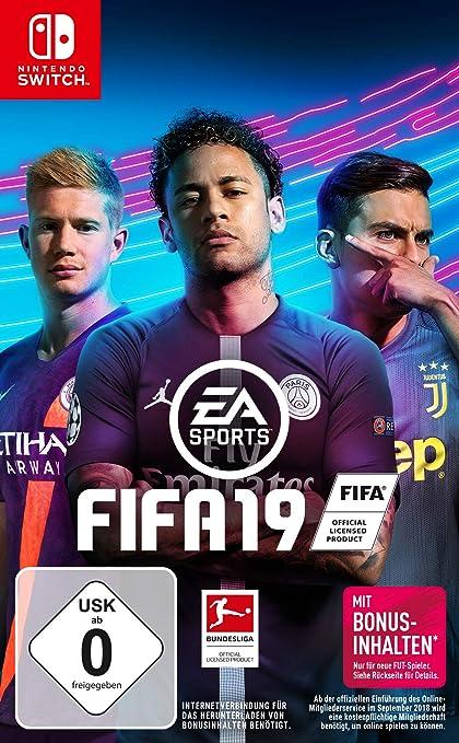 FIFA 19 - Standard Edition - Nintendo Switch [Importación alemana]: Amazon.es: Videojuegos