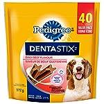 Pedigree Dentastix Oral Care Treats for Dogs - Beef - Medium - 40 Sticks