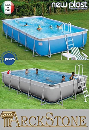 New Plast Kit Futura 900 - Piscina (Piscina con Anillo ...