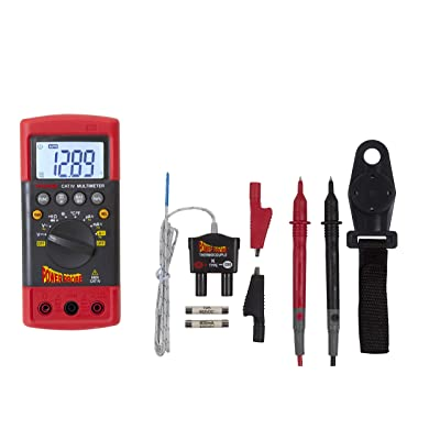 Power Probe CAT-IV Digital Multimeter (PPDMM) [Measures AC/DC Voltage, Current Resistance, Frequency, Duty Cycle, True RMS, Temperature & Capacitance]: Automotive