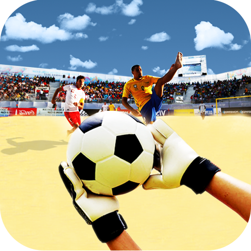 Soccer Goalkeeper Russian Beach Football Cup