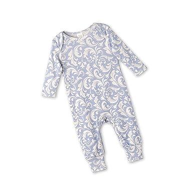 c82244502655 Amazon.com  Tesa Babe Floral Romper for Newborns   Baby Girls ...
