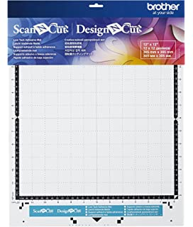 Amazon Com Brother Scanncut Low Tack Adhesive Mat 12 X 24 Inch