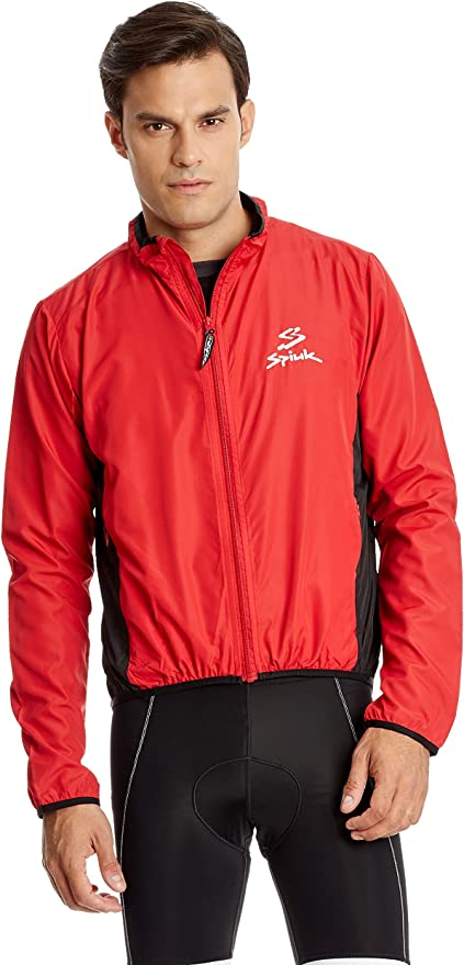 Spiuk Chaqueta Impermeable Anatomic Rojo S: Amazon.es: Ropa y ...