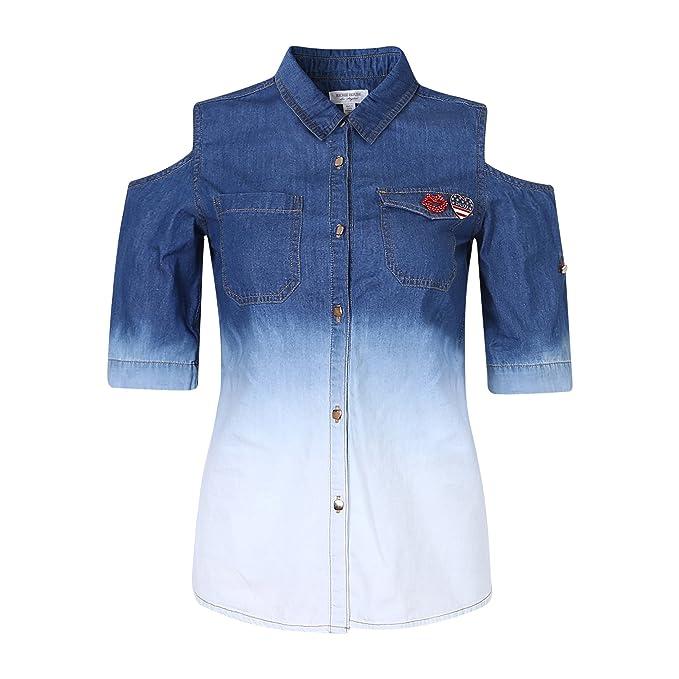 Richie Casa Mujeres Ocio Blusas Jeans RHW2508-A-S