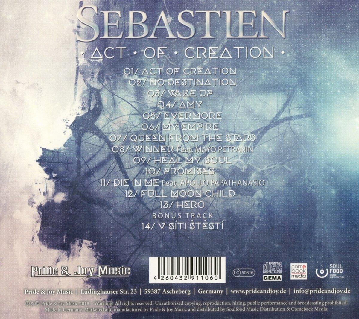 Act Of Creation   Sebastien: Amazon.de: Musik