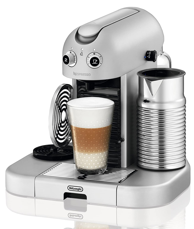 Nespresso Gran Maestria Silver EN470SAE DeLonghi - Cafetera ...