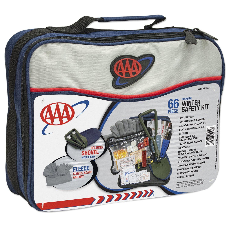 AAA 4390AAA 66 Piece Severe Weather Road Kit Safety Kits