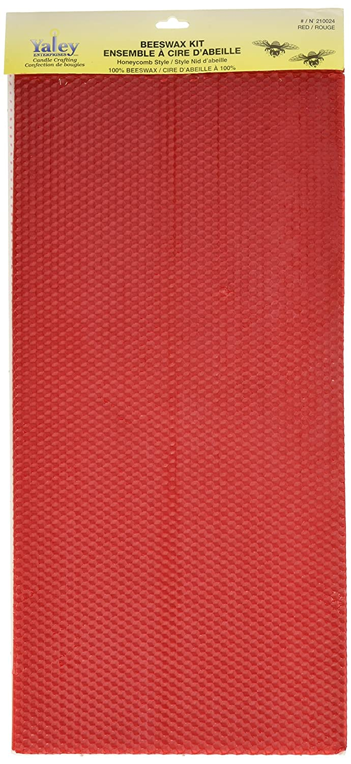 Yaley Beeswax Sheet Kits, Red Y2100-24