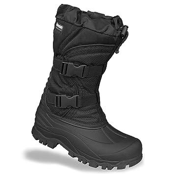 Mil-Tec - Botas para hombre, color negro, talla 39.5