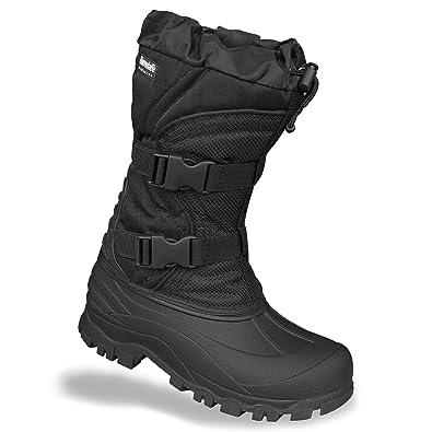 TRESPASS MEN/'S SKI WINTER THERMAL WATERPROOF SNOW BOOT BLACK SIZES 7-12UK