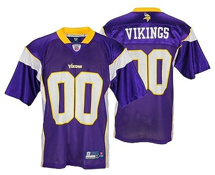 detailed look bef0b 1a43c Minnesota Vikings NFL Mens Team Replica Jersey, Purple