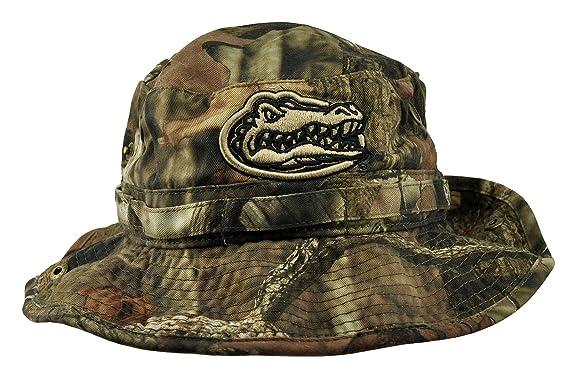 eaf89f3ef7f NCAA Top of the World Florida Gators Woodsman Bucket Hat - Mossy Oak Camo