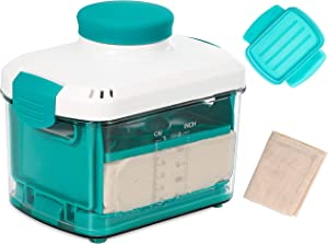 NOYA Adjustable Tofu Press with Cheesecloth - Vegan Tofu Presser to Speed up Removing Water from Silken, Firm, and Extra Firm Tofu in 10-30mins without Crack - BPA Free