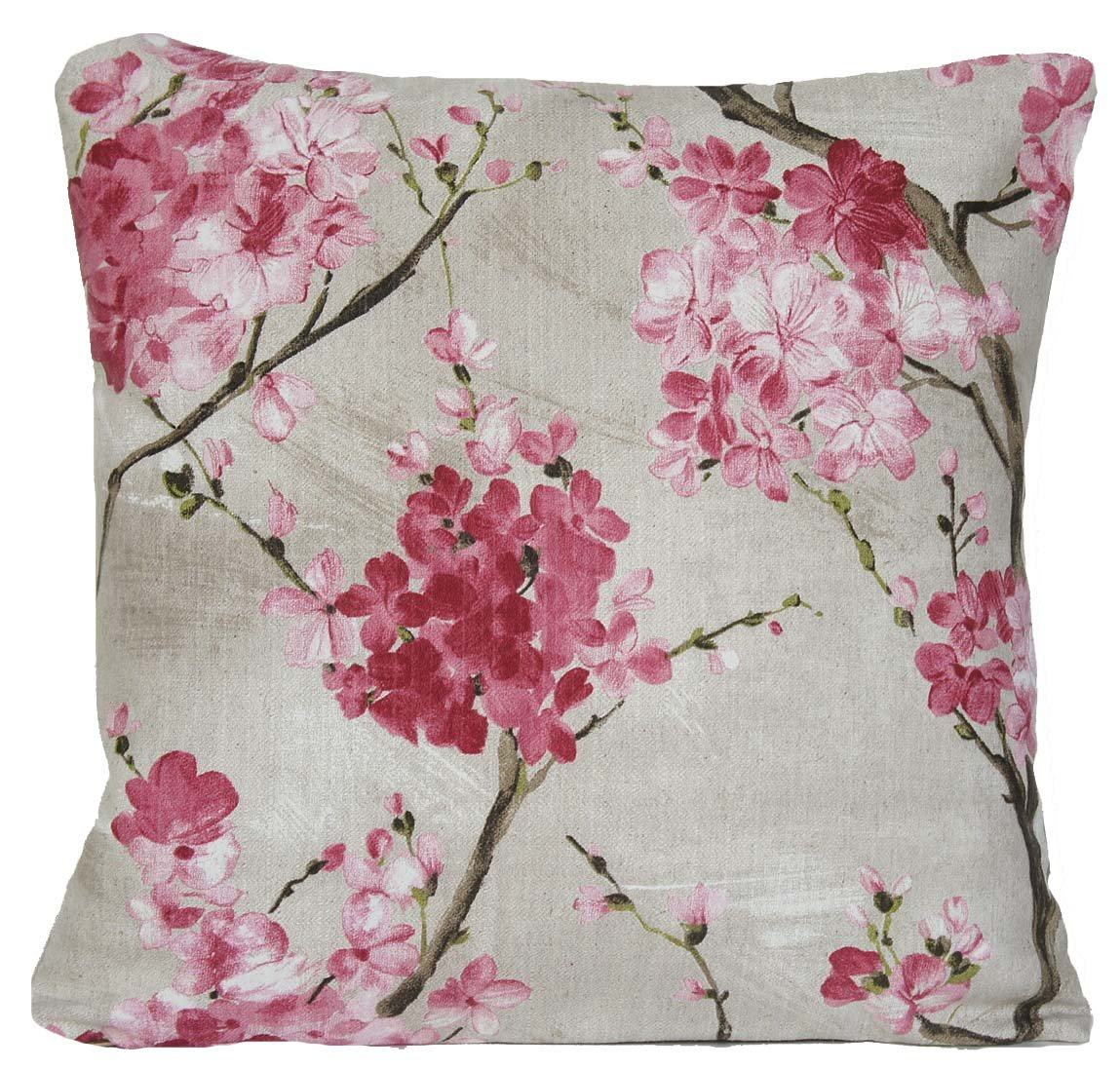 Cherry blossom cushion cover pink flowers dcor pillow throw case cherry blossom cushion cover pink flowers dcor pillow throw case amazon kitchen home mightylinksfo