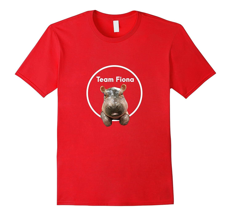 #teamfiona Fiona The Baby Hippo T shirt Love Hippopotamus-Art
