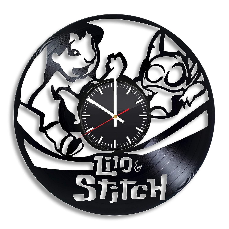 Art League House Lilo and Stitch Disney - Reloj de Vinilo ...