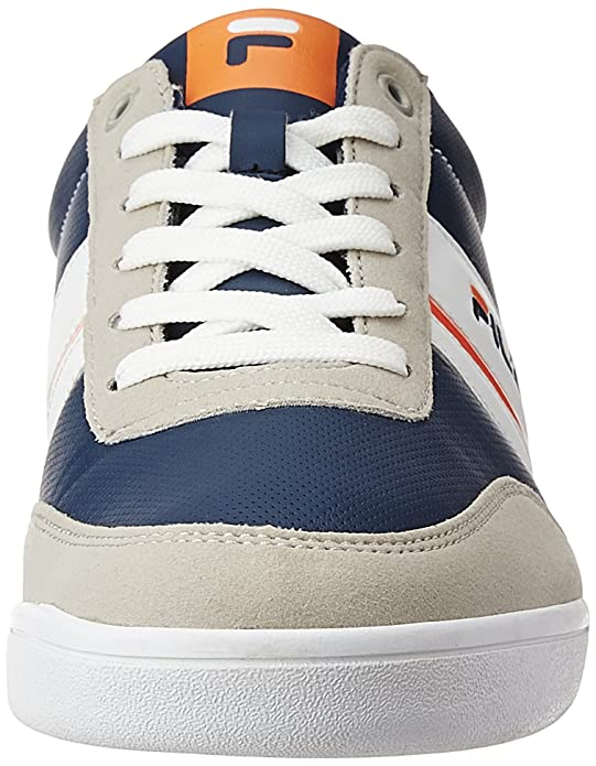 0357272554e3 Fila Men s Nofri Grey and Navy Sneakers - 10 UK India (44 EU)  Buy Online  at Low Prices in India - Amazon.in