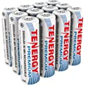 12-Pk. Tenergy Premium Rechargeable 2500mAh AA Cell Batteries