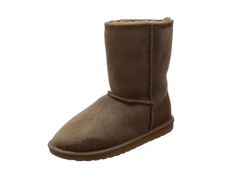 Emu Australia Stinger Hi, Boots femme - Marron (Chocolate), 35-36 EU (3 UK) (5 US)Emu