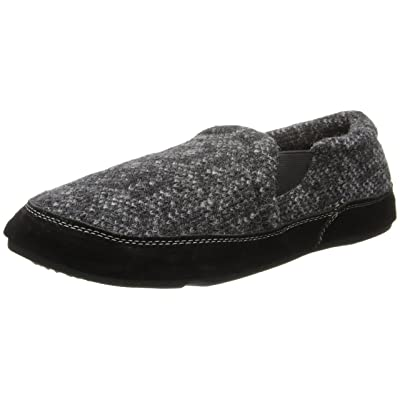 Acorn Men's Fave Gore Slipper - Charcoal Tweed: Home & Kitchen