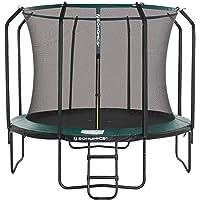 SONGMICS 12 ft Trampoline, ronde tuintrampoline met veiligheidsnet, ladder, gewatteerde palen, voor kinderen en…