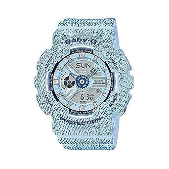 Casio Reloj Analógico-Digital para Mujer de Cuarzo con Correa en Resina BA-110DC-2A3ER: Amazon.es: Relojes