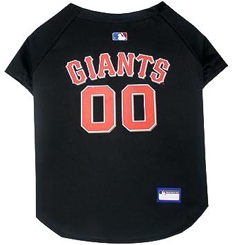 Amazon.com : Pets First MLB San Francisco Giants Dog Jersey, Small ...