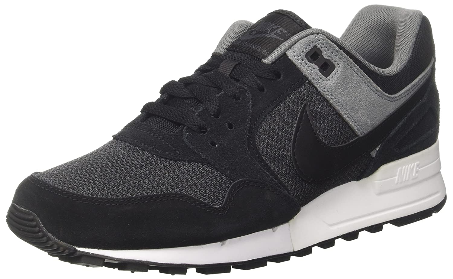 Nike Herren Air Pegasus 89 Sneaker  45 EU|Grau (Black/Black-anthracite-cool Grey-pure Platinum)
