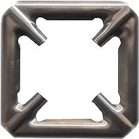Happy Chef Gas Stove Burner Extra Attachment Removable Grill/Jali (12.5cm x 12.5cm) - 1 Pcs