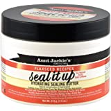 Aunt Jackie's Flaxseed Recipes Seal It Up, Hydrating Sealing Butter, Helps Prevent and Repair Damaged Hair, 7.5 Ounce…
