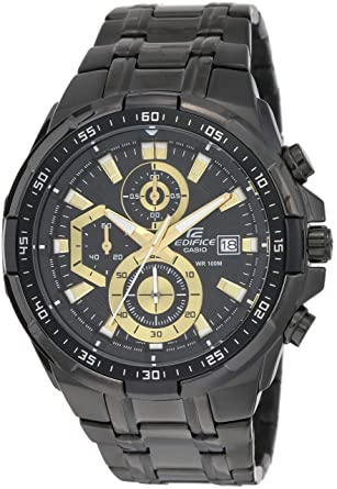 ce8029585873 Buy Casio Edifice Stopwatch Men s Chronograph EFR-539BK-1AVUDF ...
