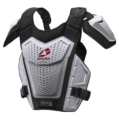 EVS Sports RV5-W-L/XL Men's Roost Deflector (REVO 5) (White, Adult (L/XL)): Automotive