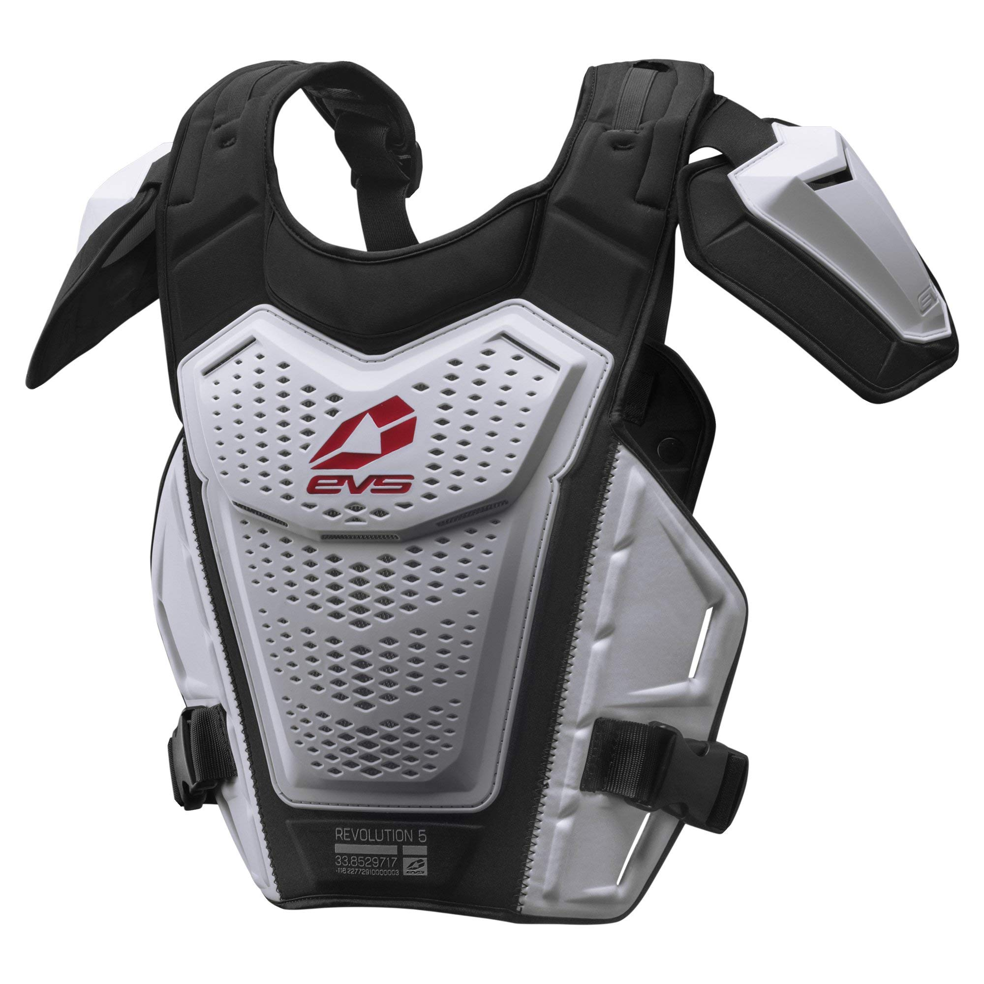 EVS Sports Men's Roost Deflector (REVO 5) (White, Adult (L/XL)) by EVS Sports