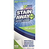 Stainaway Plus Professional Strength Denture Cleanser Powder - 8.1 Oz