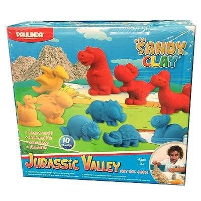 Arena Mágica cinetica Jurassic Valley 600 gr: Juguetes y juegos
