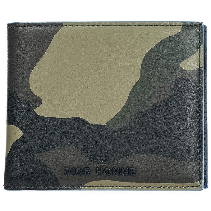 Dior billetera hombre kaki - blue: Amazon.es: Ropa y accesorios