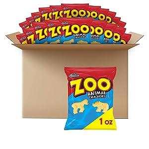 Austin Zoo Animal Crackers, Original, Lunch Box Snacks (40 Count)