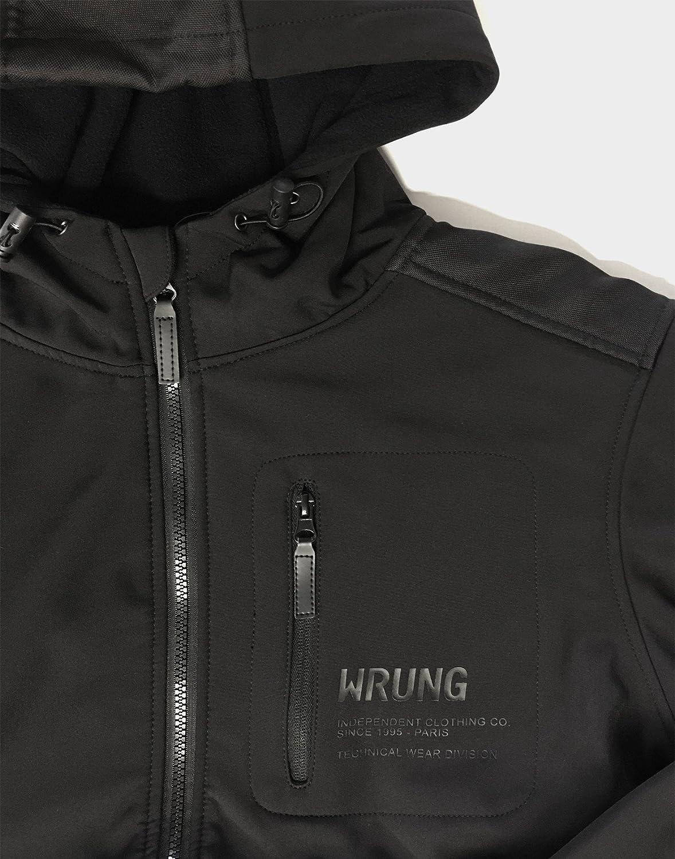 Wrung Et Accessoires Veste Noire Tekk Vêtements wSq40fw