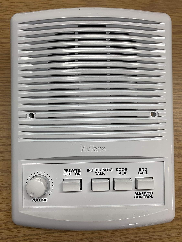 Nutone ISA-445WH Indoor Intercom Speaker for IMA-4406 and IM-4406 - White