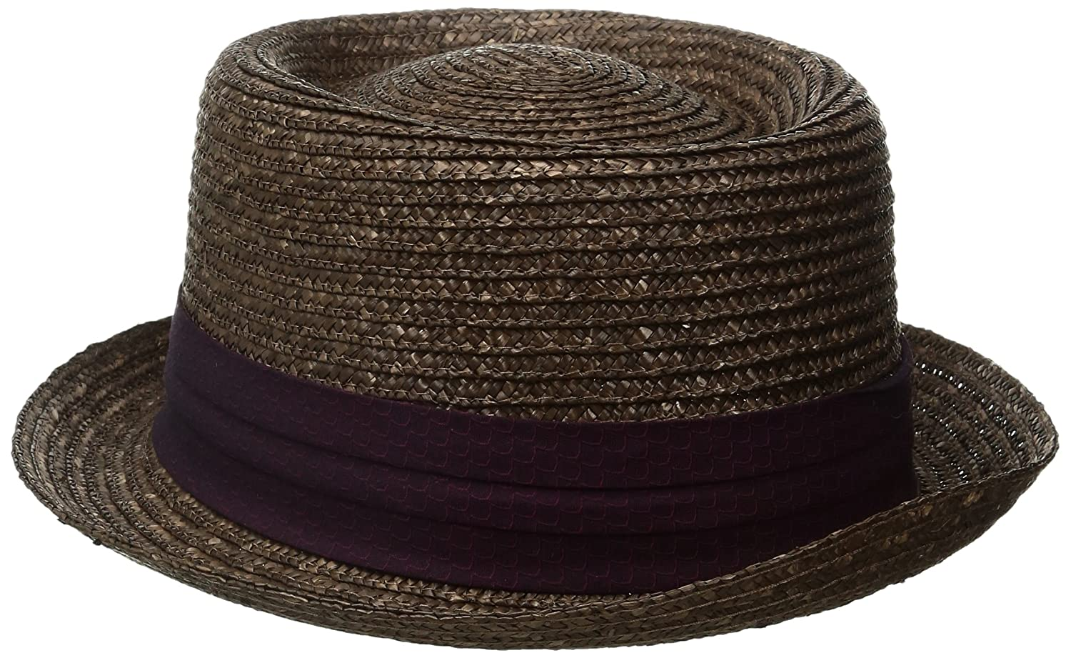 89a8aa0832607 Amazon.com  Original Penguin Men s Round Top Straw Porkpie  Clothing