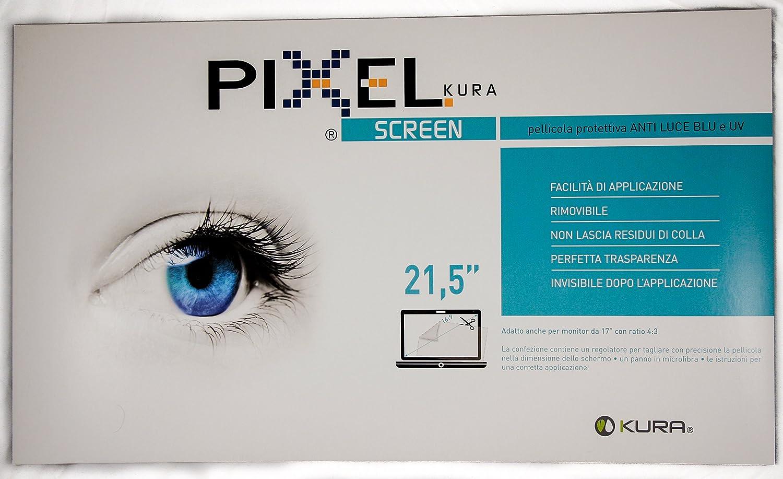 PELÍCULA PIXEL SCREEN FILTER Prueba Realizada por la Universidad de Turín, Anti-luz Azul y uv, Anti-arañazos y sin Burbujas, Innovadora Composición ...