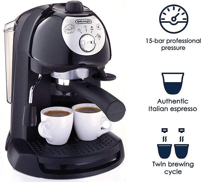 DeLonghi BAR32 Retro 15 BAR Pump Espresso and Cappuccino Maker