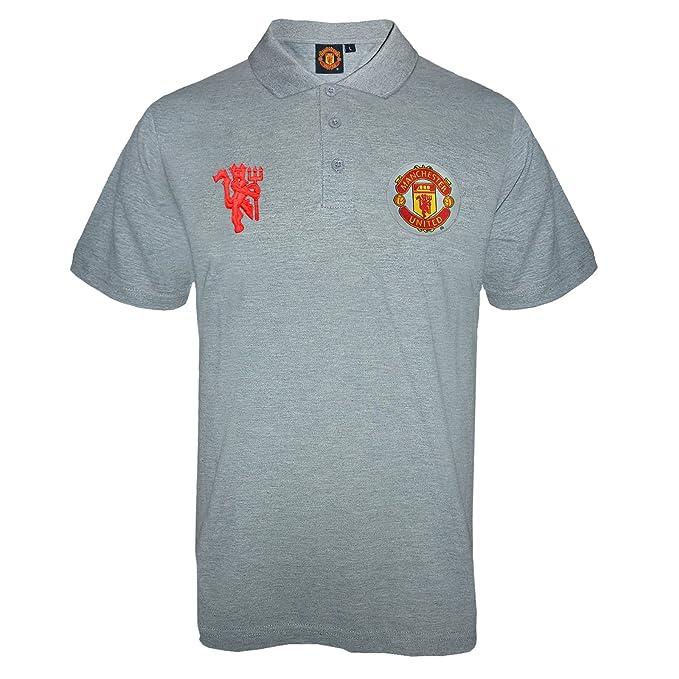 Manchester United FC - Polo oficial para hombre - Con el escudo ...