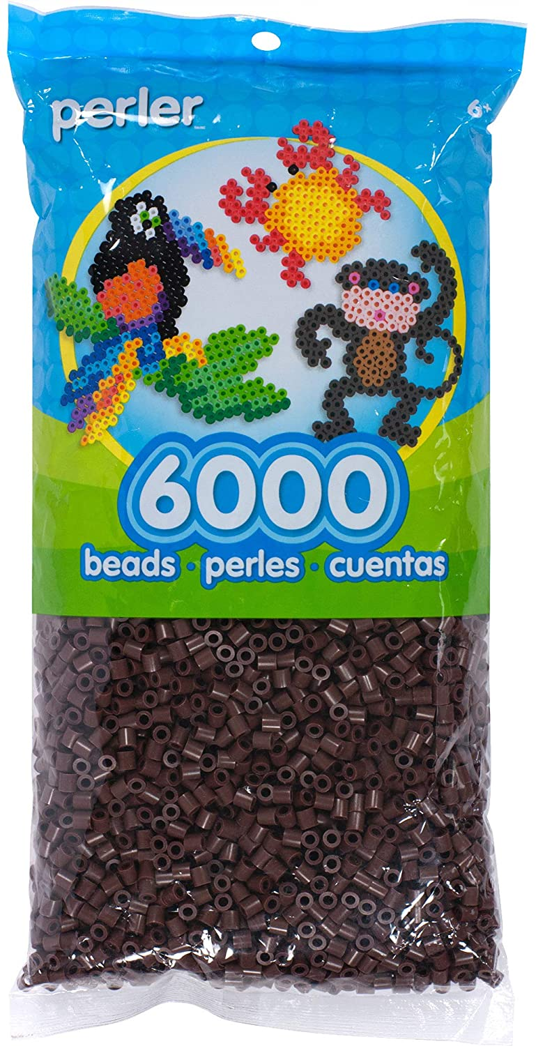 Canutillos Beads 6000 Unidades Color Marron (xam)