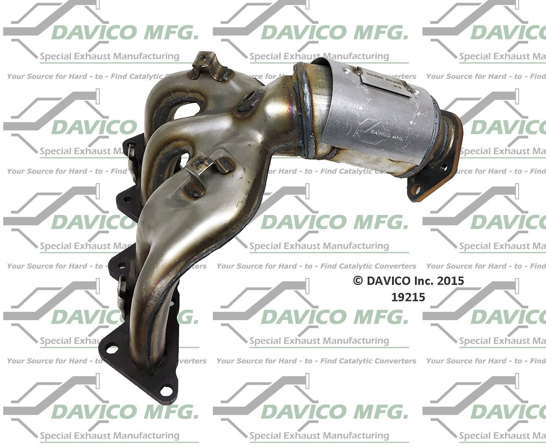 Davico 19215 Catalytic Converter