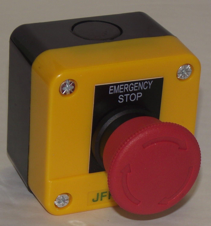 Emergency stop button station JFK